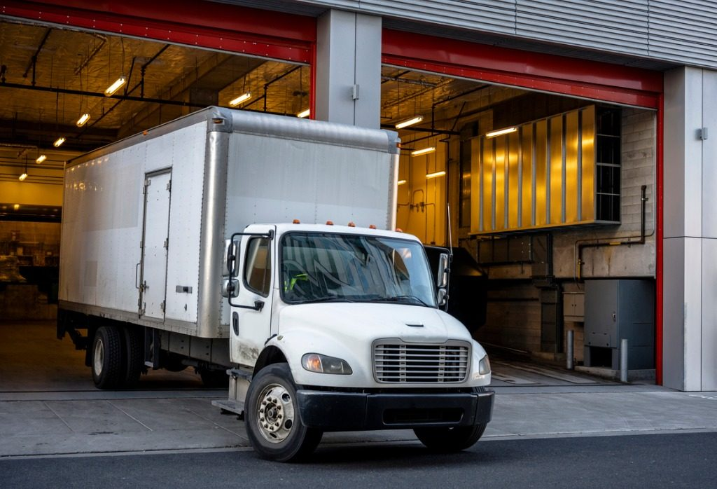 commercial box truck